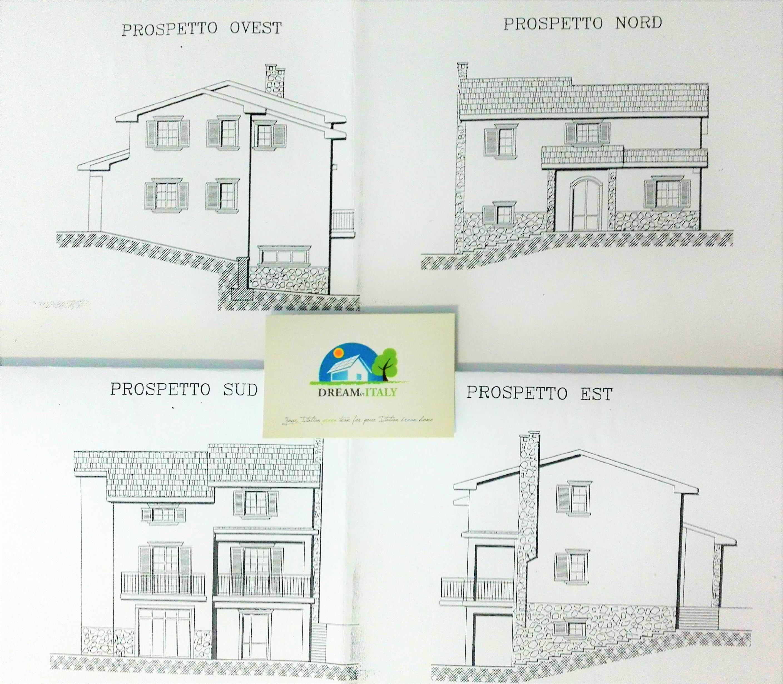 prospetti case prospetti fronte principale studio degli