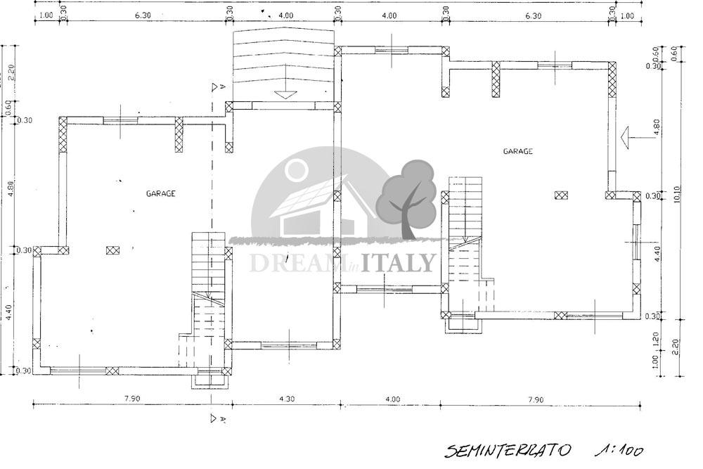 Enza lomb web pianta piano seminterrato dreaminitaly for Piano seminterrato
